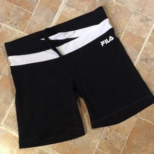 Fila bicycle shorts size women's small